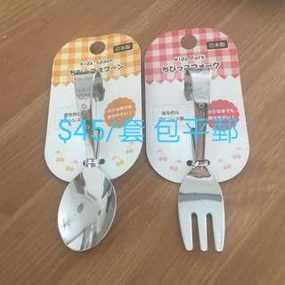 日本幼兒圈圈有耳餐具 加固必備