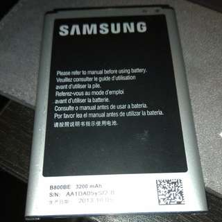 Samsung Battery b800be note 3 n9000 3200mah