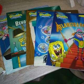 Buku Spongebob bahasa Inggris (6books)