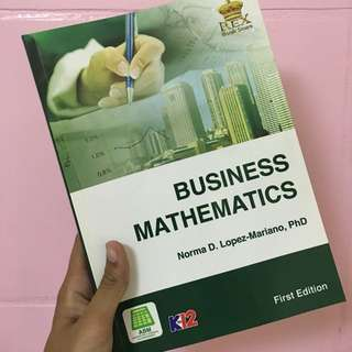 BUSINESS MATHEMATICS BOOKS