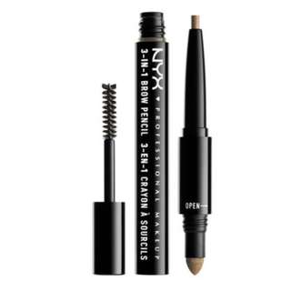 NYX 3 in 1 BROW Soft Brown