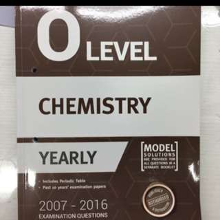 Chemistry o level Tys ten year series