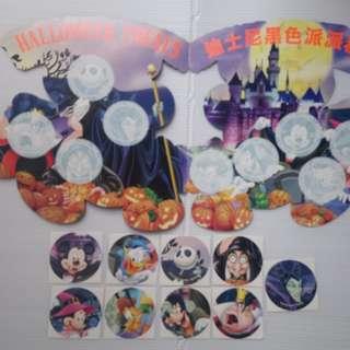 香港迪士尼樂園黑色世界貼紙套(未貼)