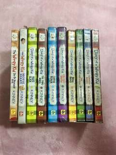 Diary of a Wimpy Kid (1-8 + Movie Diary + D.I.Y.)