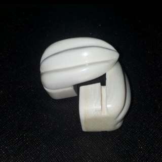 Ivory cup holder