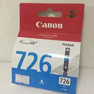 Genuine CLI-726C Canon Ink Cartridge Pixma