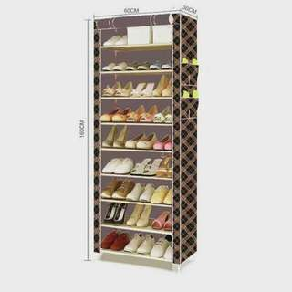 9 layer shoe rack