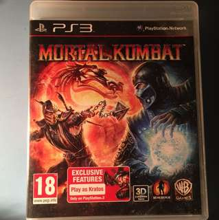 PS3 Game Mortal Kombat