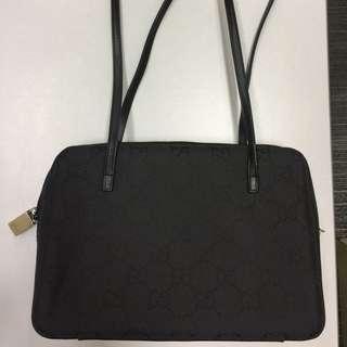 Classic Gucci Canvas Bag
