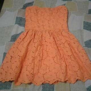 Abercrombie & Fitch Orange Dress