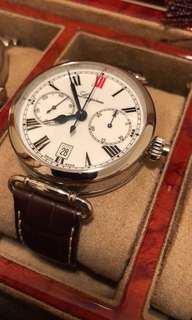 Longines single wheel chronograph