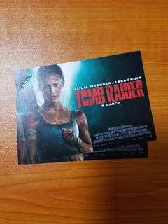 Tomb Raider movie passes