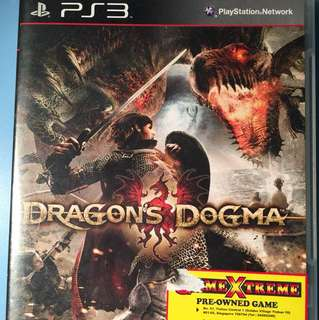 PS3 Game Dragon Dogma