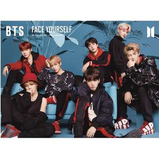 BTS FACE YOURSELF (No second payment!!)