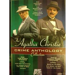 The Agatha Christie Crime Anthology Collection DVD
