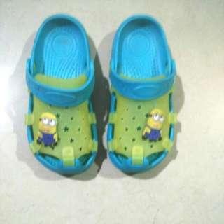 Free Ongkir Jabodetabek Sandal Anak Crocs Minion