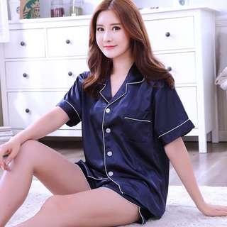 Blue sleep Shirt