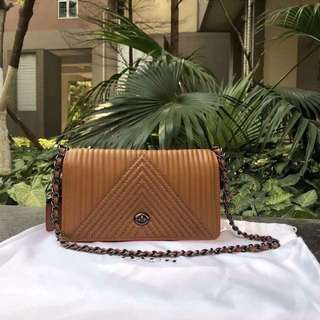 COACH 1941 Dinky with Quilting & Rivets Crossbody Bag