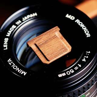 Premium Handcrafted Wooden Hot Shoe Cover/ Cap for Sony