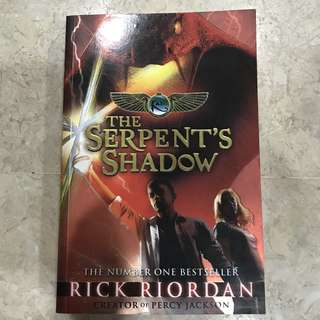 The Serpent's Shadow (Kane Chronicles by Rick Riordan)