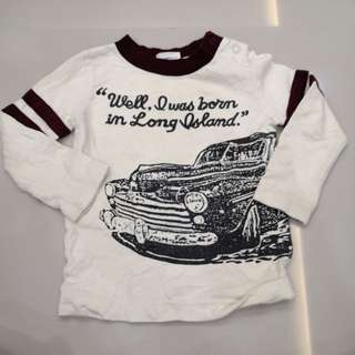 Baby's Long Sleeves Shirt (12-18m=