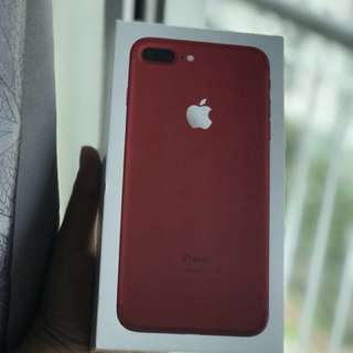 Iphone 7plus red limited edition