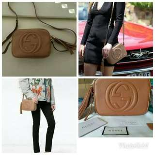 Tas Gucci Disco Soho Mirror Ori Leather