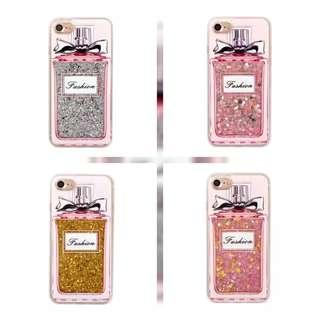 PO: 📱RARE! Fashion Perfume Glitter Phone Case