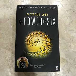 The Power of Six (I Am Number Four series by Pittacus Lore)