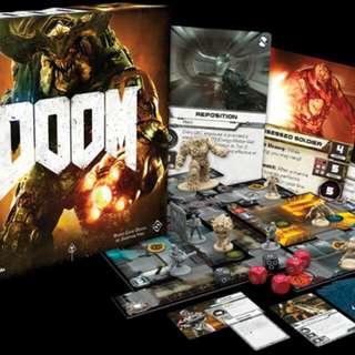 Doom board game (BNIB)-sale