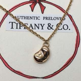 Excellent Authentic Tiffany & Co. Elsa Peretti Bean Bracelet Rose Gold 18k