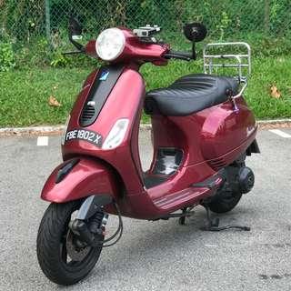 Vespa LX150ie