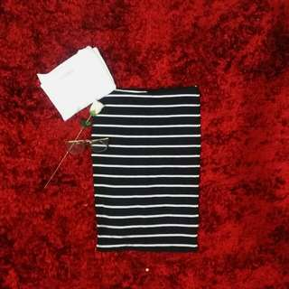 H&M Striped long pencil skirt (O.P. 250)