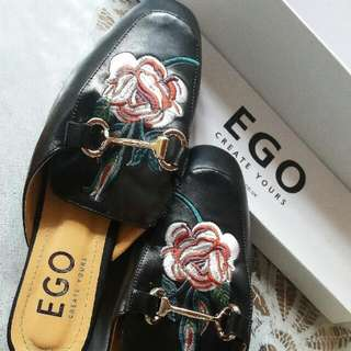 Ego Gucci Inspired Mules