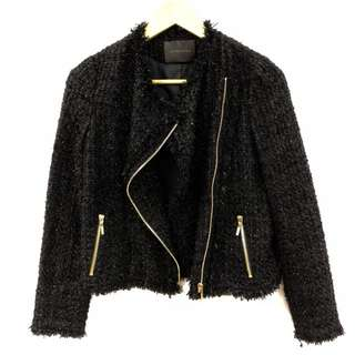Anteprima metallic black jacket size 38