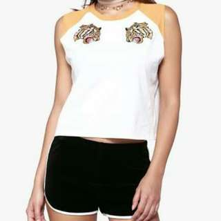 Forever 21 lion muscle tee (O.P. 250)