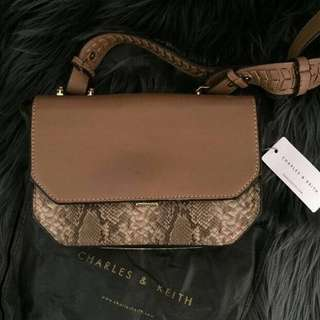 Original Charles & Keith Boxy Crossbody