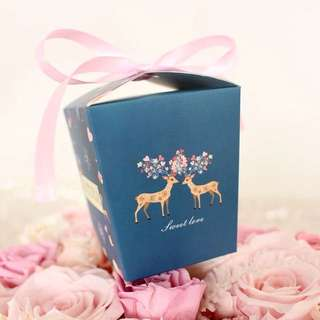 Sweet Love Wedding Birthday Party Door Gift Favors Box