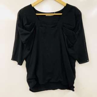Ports black top size 6