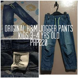 Original H&M jogger pants