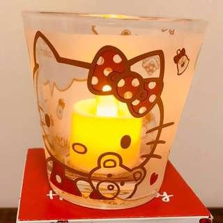 Hello Kitty 磨砂玻璃杯