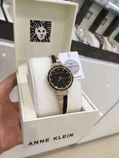 瓷釉半手鐲錶❤️ANNE KLEIN