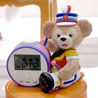 Tokyo Disneysea Disneyland Disney Resorts Sea Land Happy Marching Fun 2018 Duffy Alarm Clock Preorder