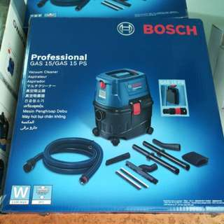 [Bosch] Wet & Dry Vacuum Cleaner GAS15PS