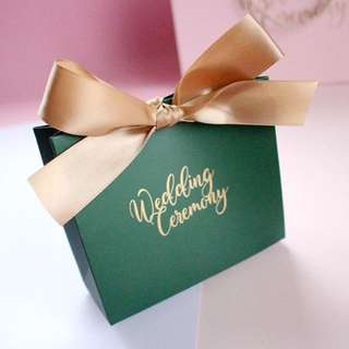 Wedding Ceremony Door Gift Favors Bag