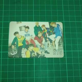Yes card 30期 bts 團體