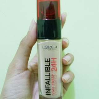 Loreal Infallible Stay Fresh 24H Foundation