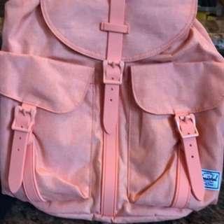 Herschel pink bag NEGOTIABLE