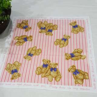 🐻🐻Japanese Cotton Handkerchief