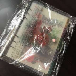 A5 Transparent Sakura Planner